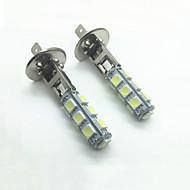 4w dc12v beyaz h1 13led 5050smd led otomatik araba ışık sis lambaları araba kurşun sis lambası ampuller dış ışıklar 2pcs