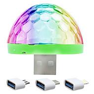 Luz de Natal LED Night Light Luzes USB-5W Sensor Cores Variáveis - Sensor Cores Variáveis