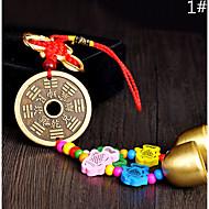 Sac / téléphone / keychain charme jingle bell cartoon jouet métal style chinois