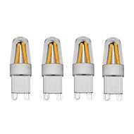 3W LED2本ピン電球 T 4 COB 250 lm 温白色 クールホワイト AC220 AC230V印加時 AC240 V 4個