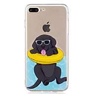 Kotelo iphone 7 plus 7 kesä uinti koira malli pehmeä tpu materiaali puhelinkotelo 6s plus 6plus 6s 6 se 5s 5