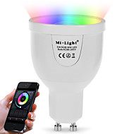 5W Smart LED-lampe A60(A19) 12 SMD 5730 500 lm Varm hvid RGB Dual lyskilde farve Infrarød sensor Dæmpbar Fjernstyret WIFI Lysstyring