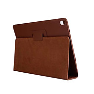 Voor ipad pro 10.5 case hoesje flip full body hoesje vaste kleur hard pu leather ipad (2017) ipad pro 9,7 ipad air 2 ipad air ipad 2 3 4