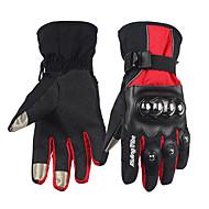 Ολόκληρο το Δάχτυλο Βελούδινο Σιφόν Ανθρακονήματα Μοτοσικλέτες Γάντια