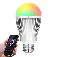 9W Smart LED-lampe A60(A19) 20 SMD 5730 900 lm RGB Hvid Dual lyskilde farve Infrarød sensor Dæmpbar Fjernstyret WIFI Lysstyring