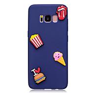tok Samsung galaxy s8 s8 plusz burkolata fagylalt mintát gyümölcs színe TPU anyag diy telefon esetében s7 s7 szélén