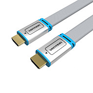 VENTION HDMI 2.0 Kabel, HDMI 2.0 to HDMI 2.0 Kabel Hann - hann 1080P Forgylt kobber 5.0m (16ft)