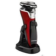 전기 면도기 남자 100V-240V 긴 대기시간 물 세탁 가능 분리가능 어고노믹 디자인 휴대용 디자인 다중 충전 모드 USB 범용 표준