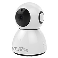 veskys®2.0mp 1080p hd wifiセキュリティ監視ipカメラクラウドストレージ双方向オーディオリモートモニタ