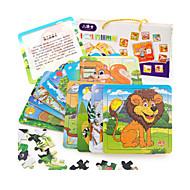 Legpuzzels Houten puzzels Bouw blokken DHZ-speelgoed Kat Eekhoorn Overige