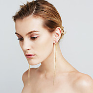 Damskie Kolczyki Ustaw sztuczna Diament Serce Sexy Modny euroamerykańskiej Film Biżuteria Miedź Line Shape Biżuteria NaŚlub Wydarzenie /