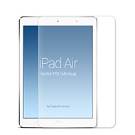 topwise® 9h hårdhed 0.3mm tynd 2.5D kant anti-ridse stødsikker hærdet glas Skærmbeskyttelse til iPad luft