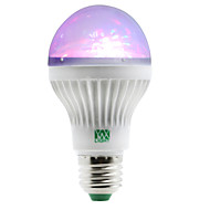 1W LED Küre Ampuller 5 SMD 100-150 lm RGB AC 85-265 V 1 parça E27