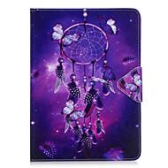 Tok samsung galaxis t280 t580 tok burkolat szél csengő minta pu anyag hármas tabletta pc tok telefon tok