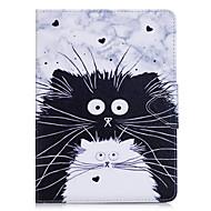 Przypadku samsung galaxy t280 t580 obudowa obudowy wzór cat pu materiał triple tablet pc przypadku przypadku telefonu