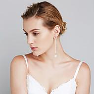 Damskie Kolczyki Ustaw Pearl imitacja euroamerykańskiej Film Biżuteria Chrismas Modny Miedź Circle Shape Biżuteria NaŚlub Na co dzień