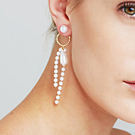 Dame Øreringe sæt Imiteret Perle Sexet Mode Personaliseret Euro-Amerikansk Movie smykker luksus smykker Statement-smykker Plastik