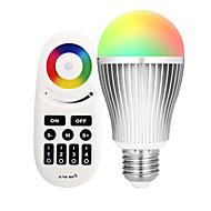 9W LED Έξυπνες Λάμπες A60(A19) 20 SMD 5730 900 lm Διπλό χρώμα πηγής φωτός RGB + λευκόΥπέρυθρος Αισθητήρας Με ροοστάτη Τηλεχειριζόμενο