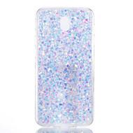 Väska till Samsung Galaxy J710 J7 (2017) Skalskydd Skyddsfodral Bak Skyddsfodral Glitter Shine Mjuk Akryl för J510 J5 (2017) J3 J310 J330