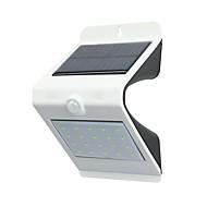 L80 20led światła słonecznego na zewnątrz dziedziniec pir ludzkiego ciała czujnik światła przełącznik dotykowy wiszące ściany