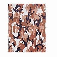 Til iPad (2017) kuffert kortholder camouflage farve mønster fuld kropscase hard pu læder til ipad pro10.5 ipad pro 9,7 ipad air air2 ipad