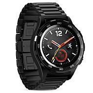 Hoco huawei watch2 urheiluvälinekori 20mm solid ruostumatonta terästä metallia, jossa perhonen tyyliin solki musta&hopea
