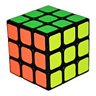 ο κύβος του Ρούμπικ Qi Hang Ομαλή Cube Ταχύτητα 3*3*3 Λεία αυτοκόλλητη ετικέτα Anti-pop ρυθμιζόμενο ελατήριο Μαγικοί κύβοι
