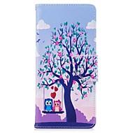 przypadku samsung galaxy note 8 uchwyt na karty drzewo portmonetka portfela skórzanego worek z wzorem