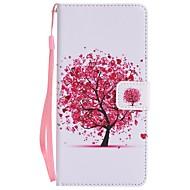 na portfel skrzynki na karty portmonetka z portfelem na statywie klapka magnetyczna pełna obudowa na ciało skórzane drzewo twarde dla