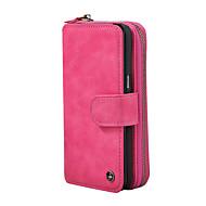 voor case cover kaarthouder portemonnee flip magnetisch full body hoesje solid color hard pu leer voor Samsung Galaxy Note 8