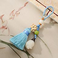 tas / telefoon / sleutelhanger charme kwastje cartoon speelgoed nylon tagua noot