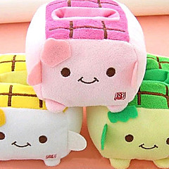 Kawaii Hannari Tofu matkapuhelimen pidike pehmolelu