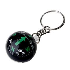 kristallipallo kompassi avaimenperä