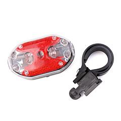 HY-208 9 2xAAA mené la lumière de la sécurité à bicyclette