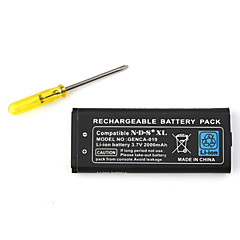 oppladbar batteripakke for Nintendo DSi XL (2000mAh)