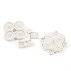 Rubber Buttons Keypad Direction ABXY Repair For Nintendo DSi NDSi