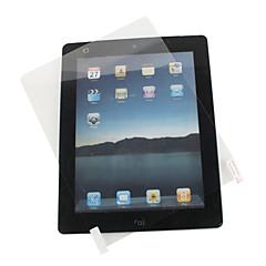 Erittäin läpinäkyvä näytön suojakalvo + puhdistus kangas iPad2:lle ja uudelle iPadille