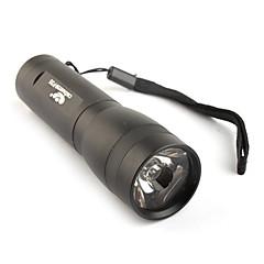 FX p35 3W LED taskulamppu 3xaaa musta