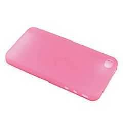 Ultrathin PC Case for iPhone 4 (Translucent Red)