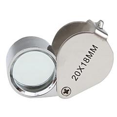 20x18mm juvelerare lupp / förstoringsglas