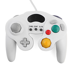 Wired Turbo Shock Game Controller for GameCube NGC and Wii/Wii U (White)