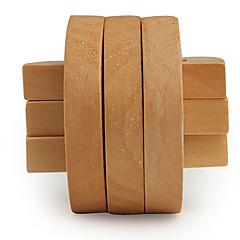 bois du cerveau iq teasr semi-anneau iq puzzle cube magique