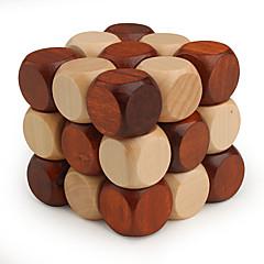 bois du cerveau iq teasr torsion dragon, puzzle de cube magique iq