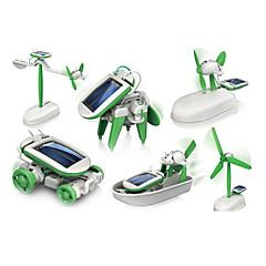 6-in-1 Solární Robot (zelená)