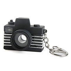 Camera Keychain with LED Flashlight and Sound Effects (Random Color)