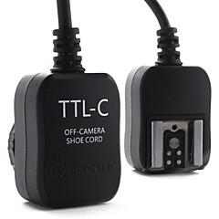 E-TTL flash désactivé cordon pour Canon 430EX, 580EX II et 380EX (noir)