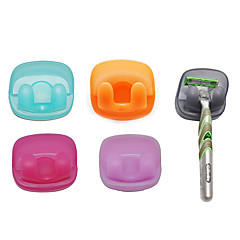 Shaving Knives Hanger with Suction Cup (Random Colors)