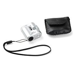 60x 3-led mini-microscope de poche avec étui