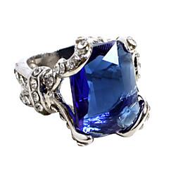Κοσμήματα Εμπνευσμένη από Black Butler Ciel Phantomhive Anime Αξεσουάρ για Στολές Ηρώων δαχτυλίδι Μπλε / ΑσημίΚράμα / Τεχνητοί Πολύτιμοι