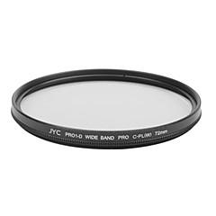 véritable JYC super mince haute performance à large bande Pro1 Filtre CPL 72mm